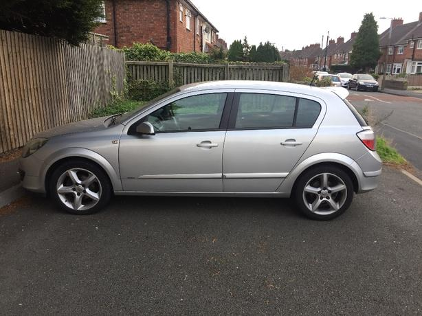 vauxhall Astra 1.7 cdti silver 55plate