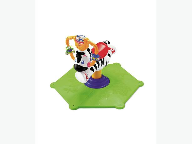 fisher price bounce and turn zebra