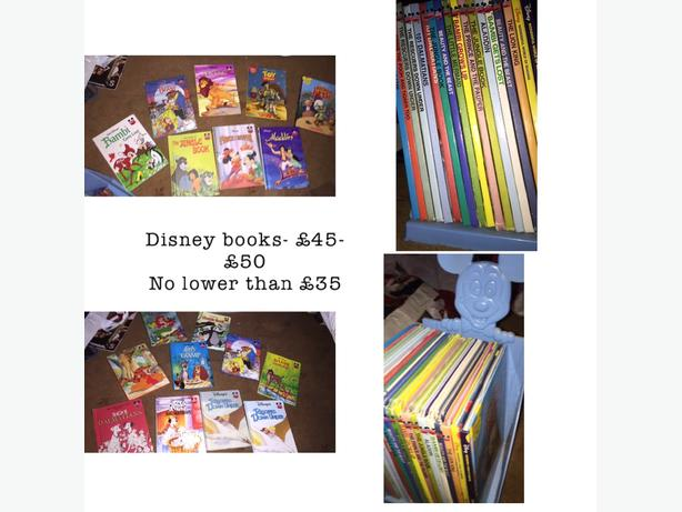disney collectable books