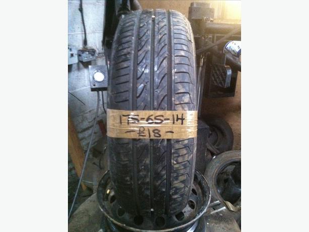 175-65-14 Landsail Ls188 82H 7mm Part Worn Tyre