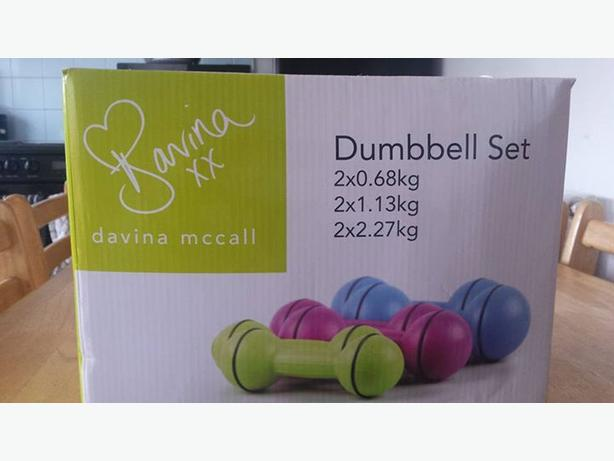 Davina mccall dumbbel set