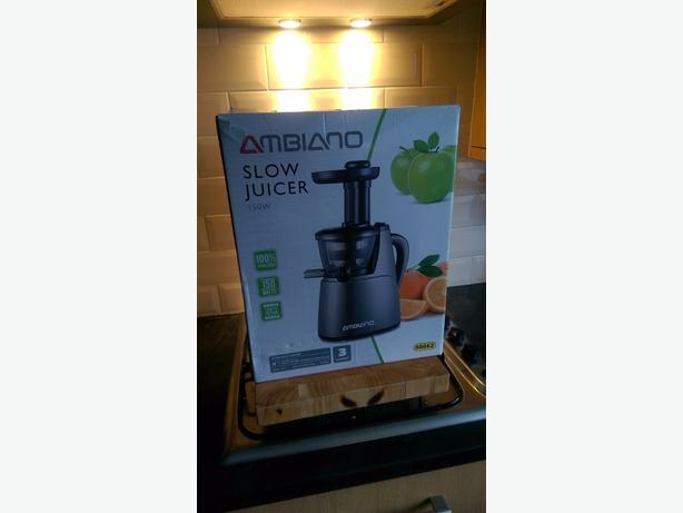 Ambiano Slow Juicer Instructions : ambiano slow juicer Brierley Hill, Wolverhampton