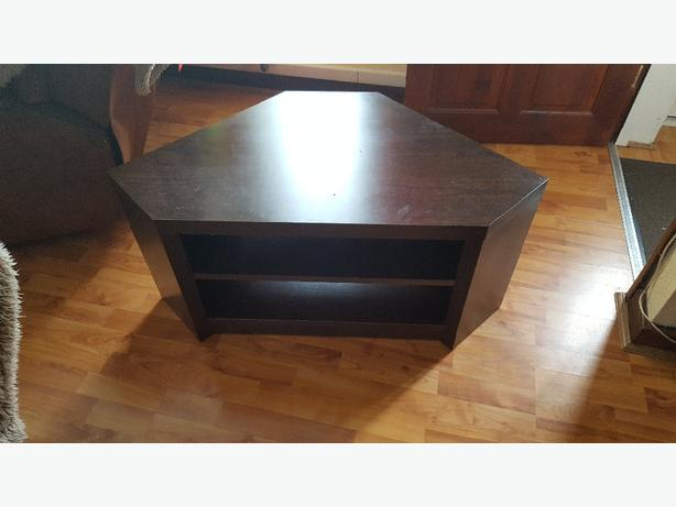 dark oak TV stand