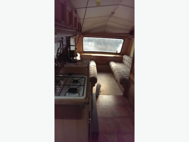 jublee 4/5 berth caravan