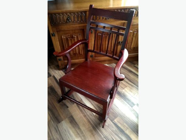 American style: adult size rocking chair.
