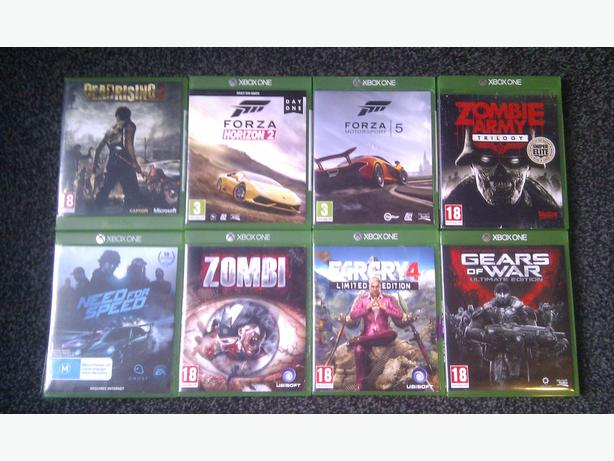 Xbox one games x9 £15 each collected from smethwick NOT xbox 360 ps3 ps4
