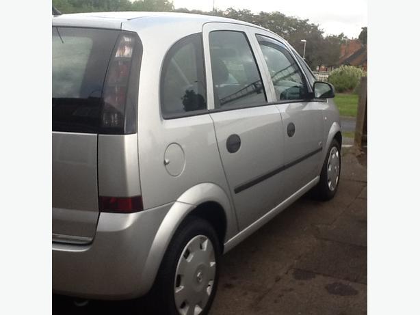 O6 Vauxhall Meriva 1.4 petrol