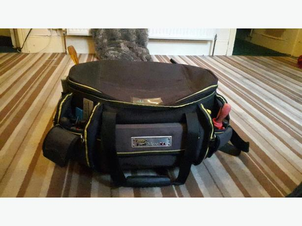 stanley fatmax xl tool bag with tools