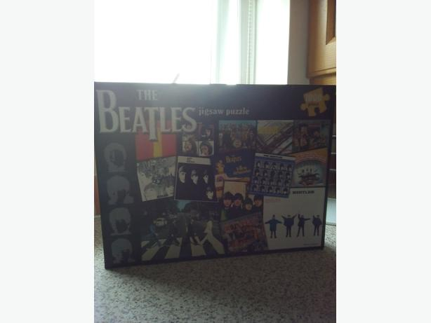 Beatles jigsaw puzzle