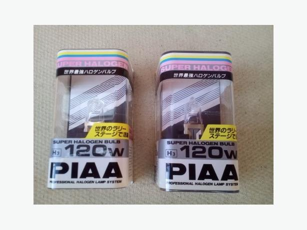 PIAA Super Halogen 120w Bulbs