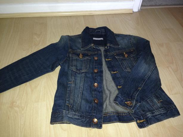 Boys denim jacket. Age 5-6 years
