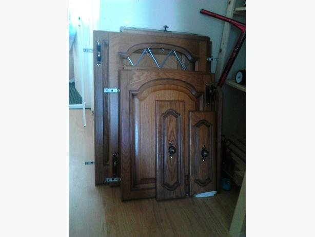 used solid kitchen doors