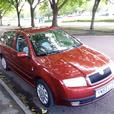 skoda fabia estate. parking sensors, timing chain