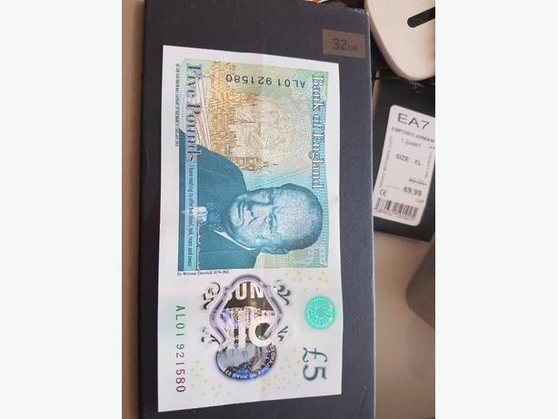 al01 5 pound note