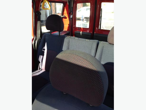 fiat doblo wheelchair van car disability vehicle