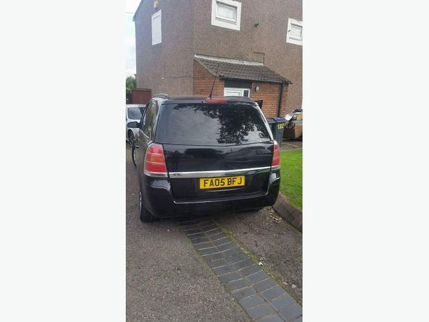 Vauxhall Zafira 1.6 7 seater  cheap need gone