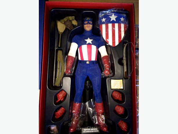 hottoys captin america