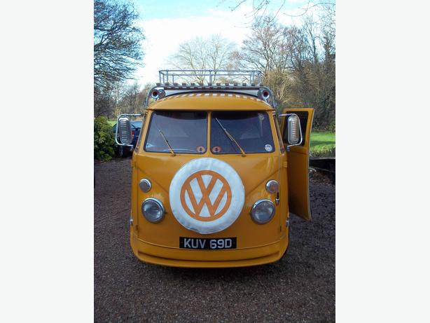 For sale a very rare and unique vw Splitscreen