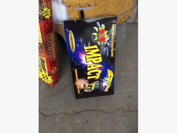 box of fireworks
