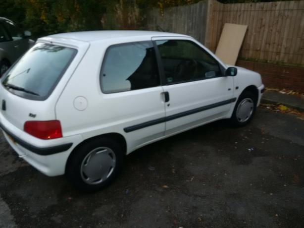 Automatic Peugeot 106