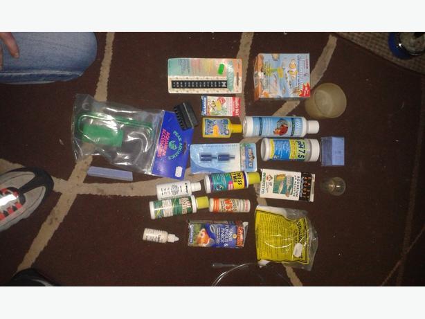 tropical fish stuff and pump