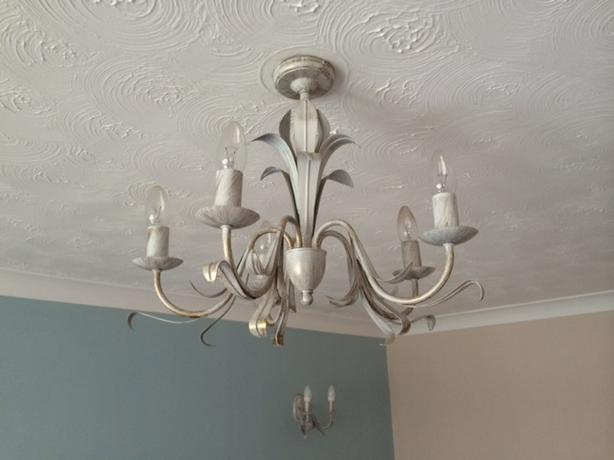 Light Fittings - Main fitting with matching Wall fittings