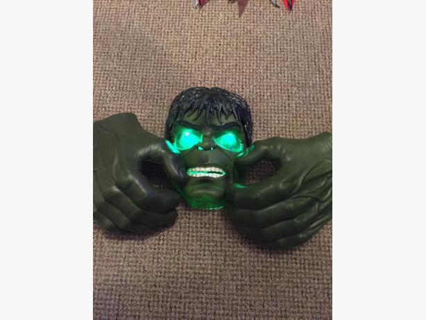 Hulk mask & hands