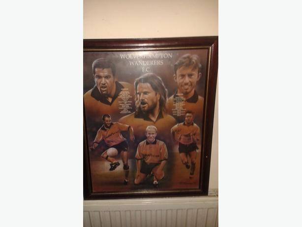 signed wolves picture