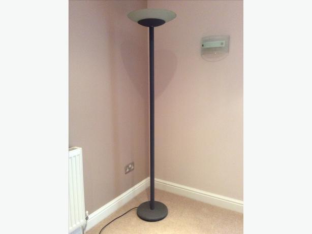 Floor uplighter lamp