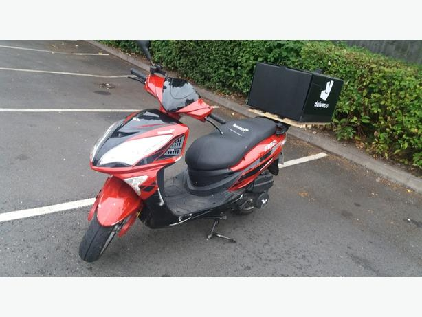 Lexmoto 125 for sale 65 plate
