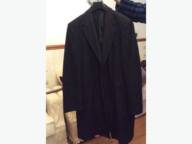 TK Max black three quarter coat