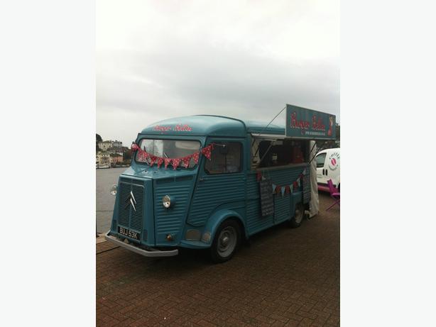 Citroen HY Van, Catering, Food, Burger Van 1972 Vintage