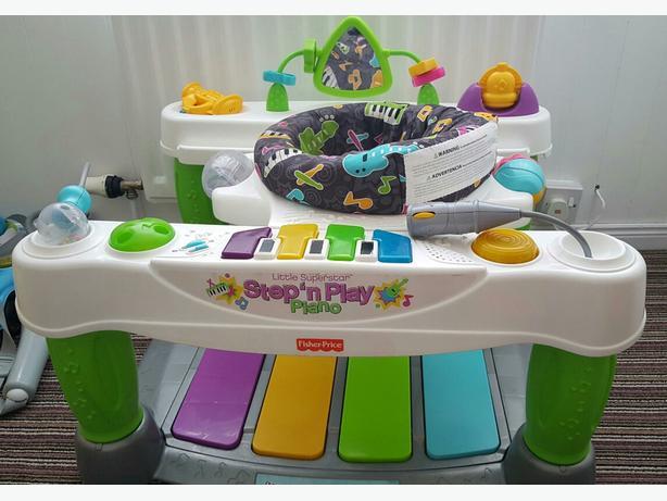 Fisherprice step and play piano