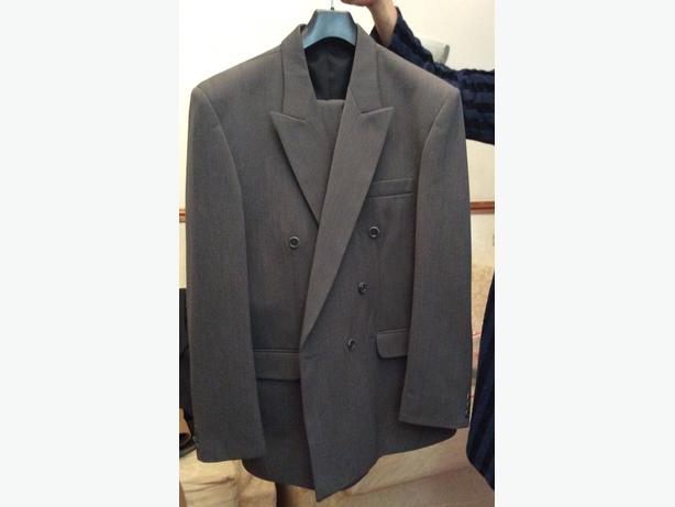 Medium length coat suit