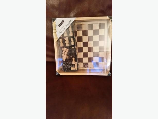brand new and sealed chess set