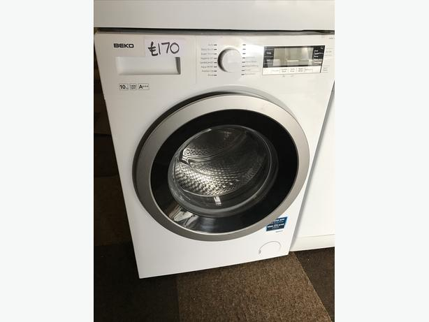 BEKO 10KG WASHING MACHINE 1400 SPIN