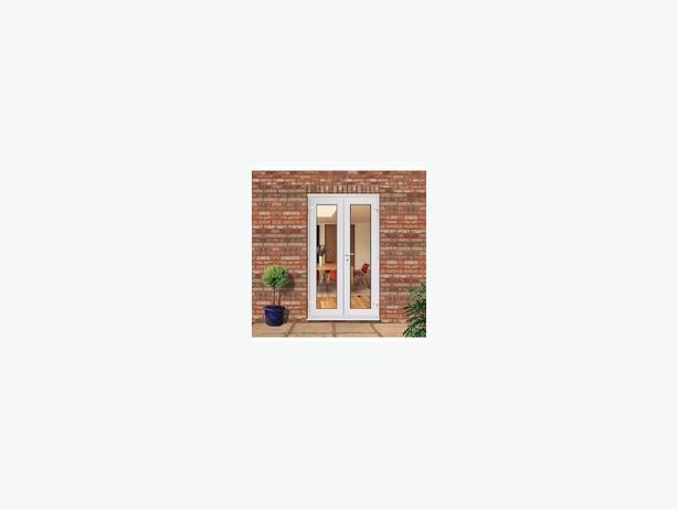 WHITE UPVC FRENCH DOORS 1200MM X 2100MM