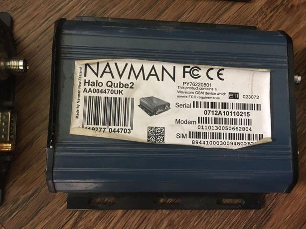 4 x navman tracker units