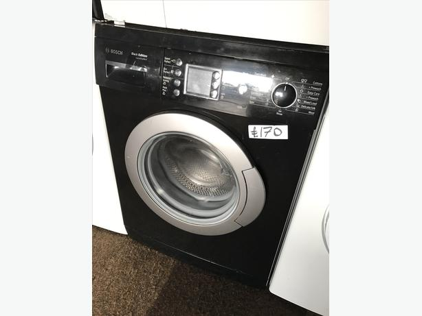 BOSCH BLACK EDITION WASHING MACHINE 6KG