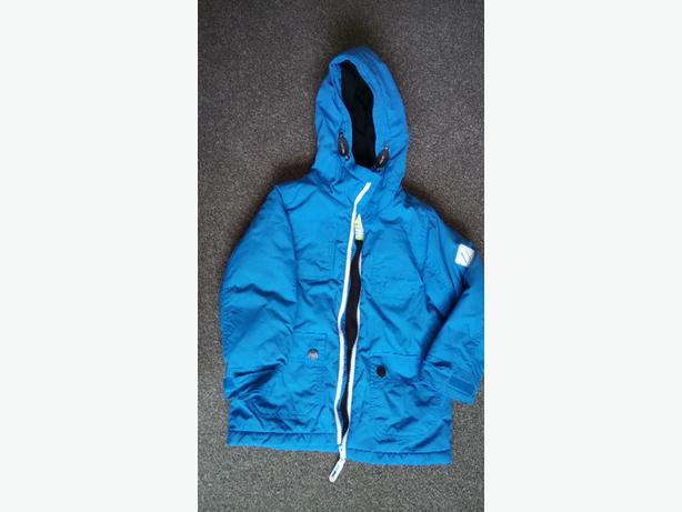 Boys blue next coat 3yrs