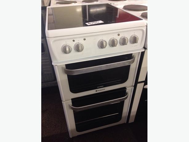 HOTPOINT 50CM FAN ASSISTED ELECTRIC COOKER