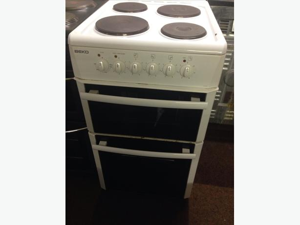 BEKO PLATED TOP 50CM ELECTRIC COOKER