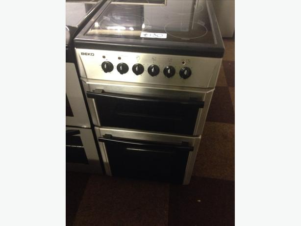 BEKO 50CM ELECTRIC COOKER CERAMIC TOP1