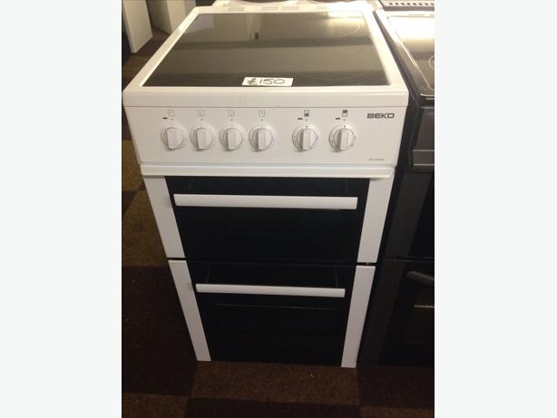 BEKO CERAMIC TOP 50CM ELECTRIC COOKER FAN ASSISTED