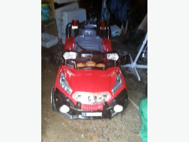 WANTED: kids battery car or quad bike