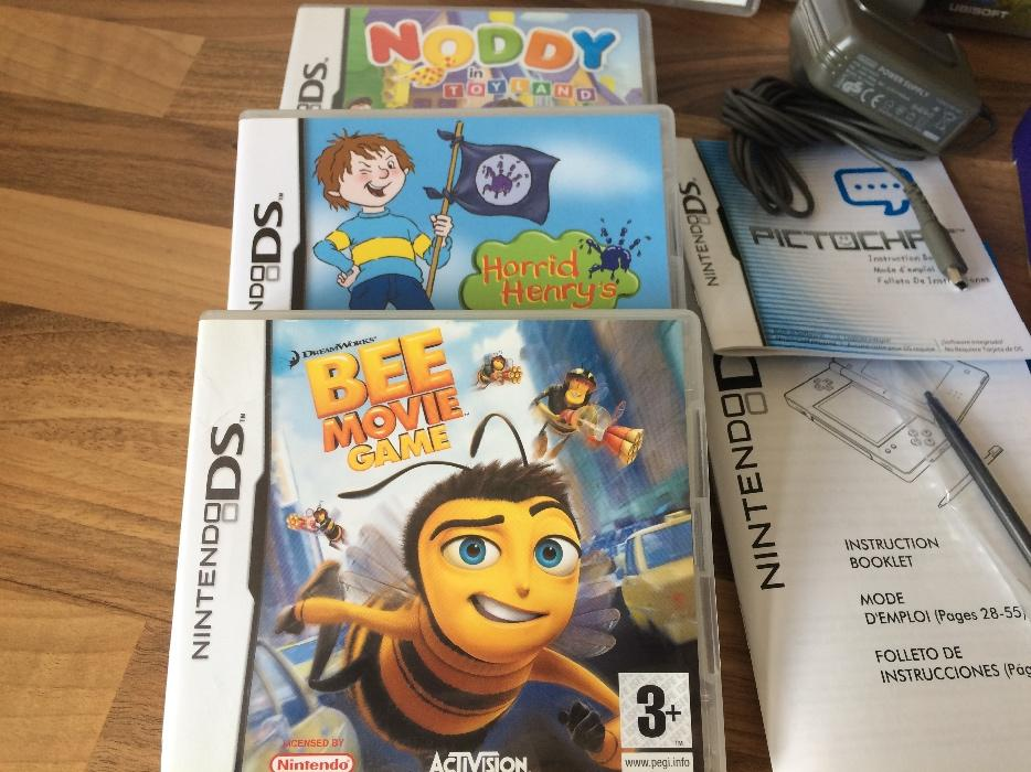 rare cobalt blue nintendo ds lite console boxed 12 games wednesbury sandwell. Black Bedroom Furniture Sets. Home Design Ideas