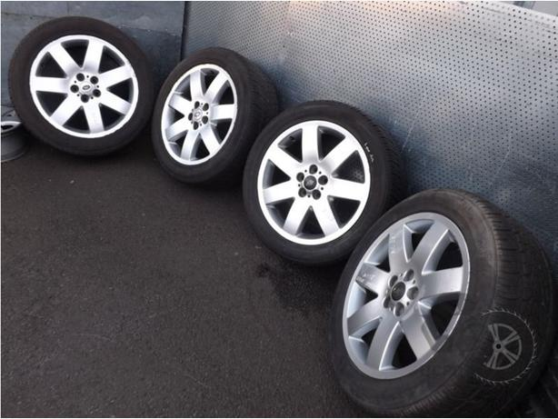 "Range Rover (2002-2009) 20"" 4 x Alloy Wheels + Tyres 255/50 R20 ref.AC27"