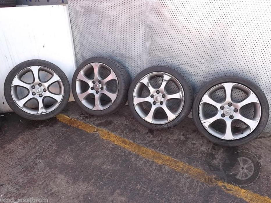 Honda Civic 2006 2011 18 Quot Set Of 4x Alloy Wheels And Tyres