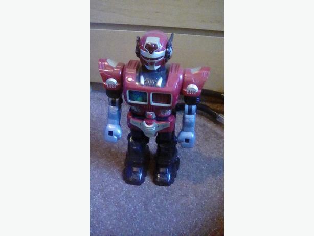 Turbo fighter robot