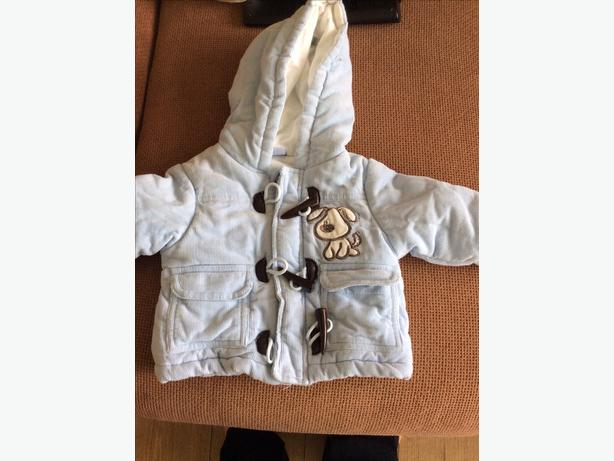 Baby boy coat 0-3 months
